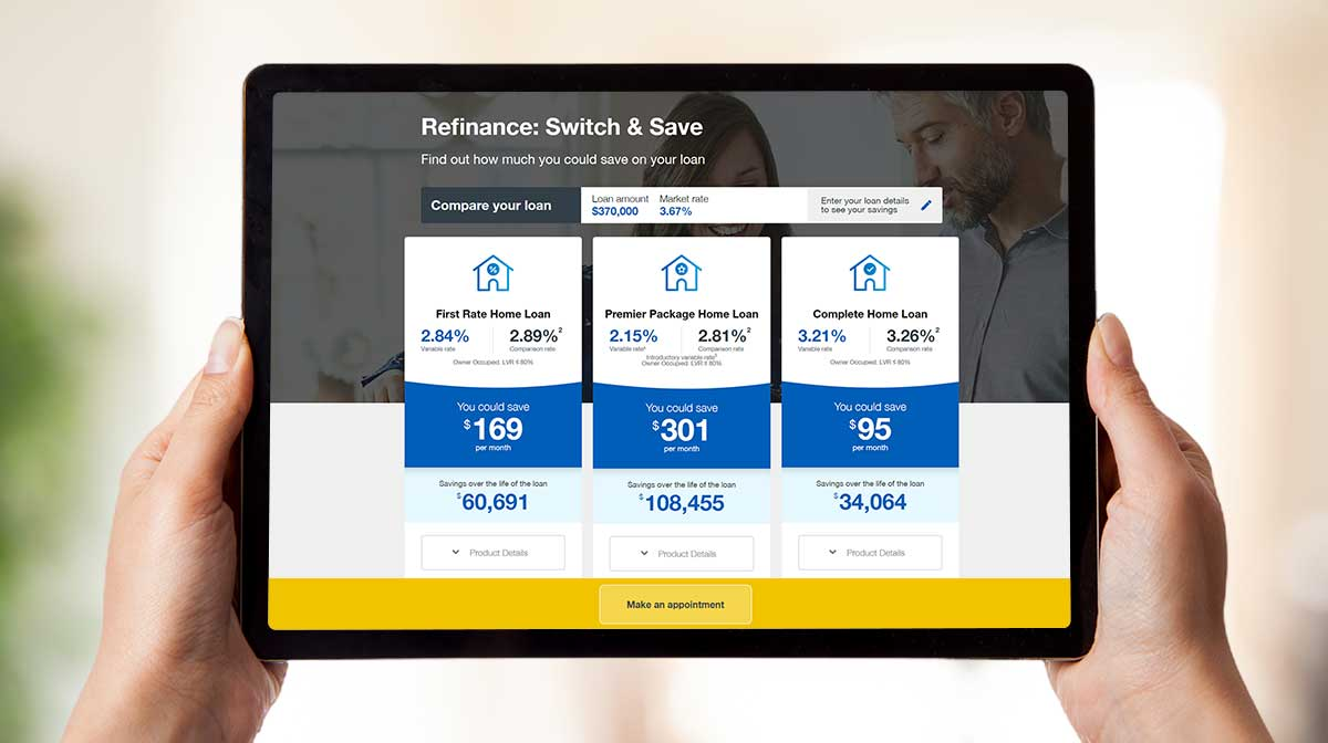 Home First Refinance Tool