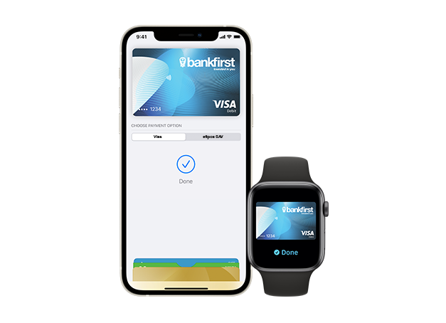 Apple Pay with Bank First