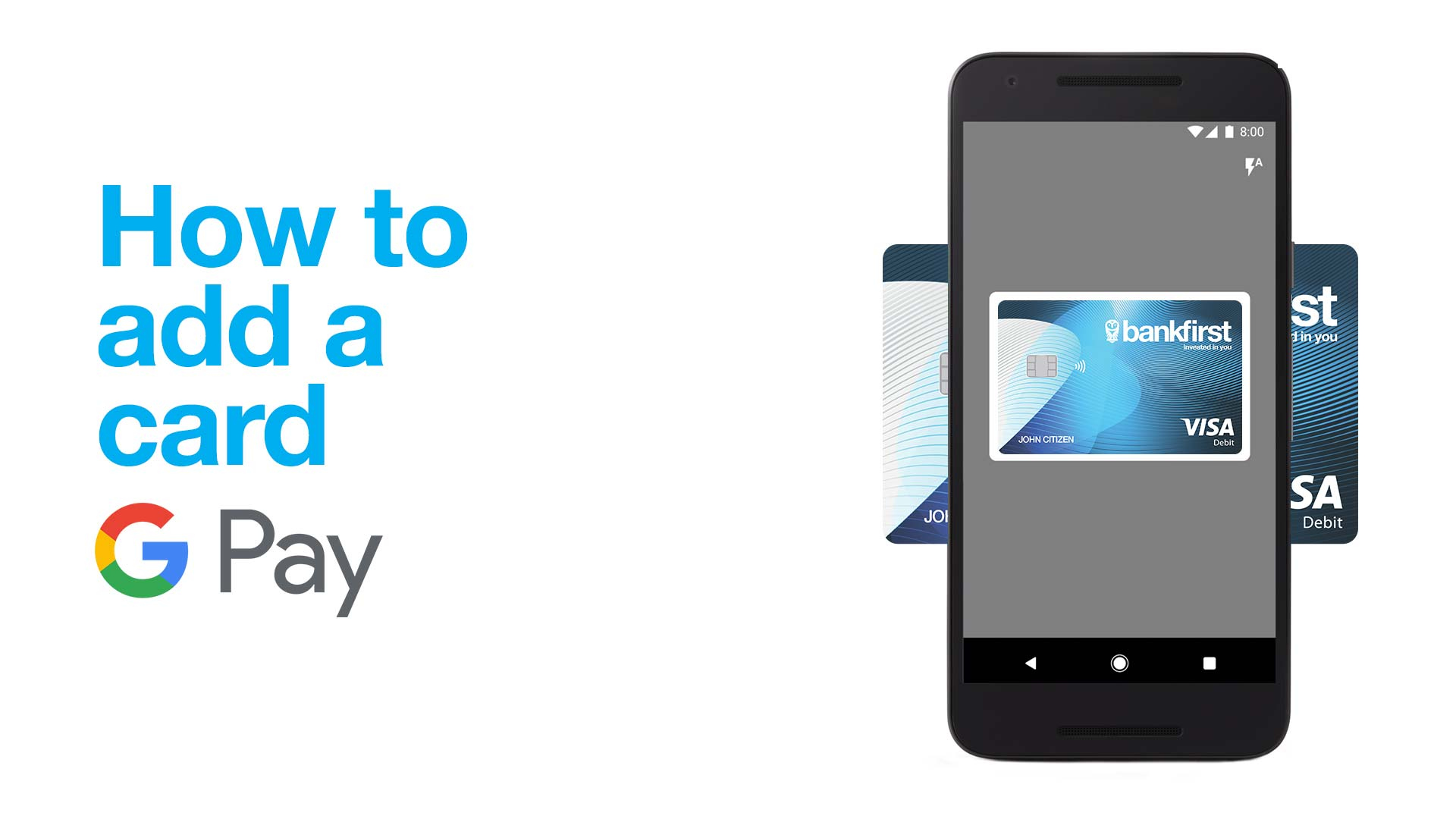 How to add a card to Google Pay